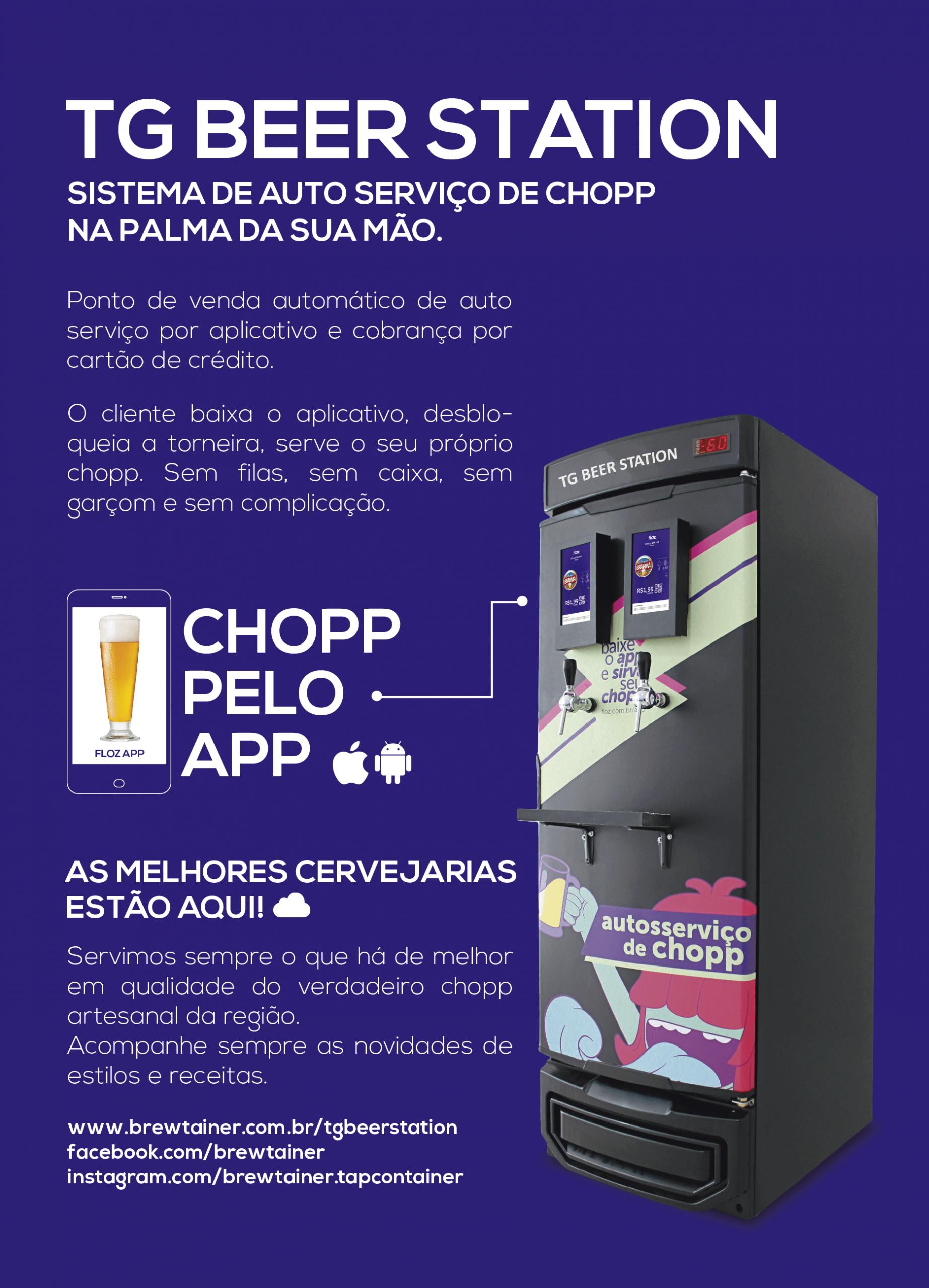 Sistema de Auto Serviço de Chopp - TG BEER STATION